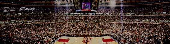 Bulls 1998 NBA Finals - Game 4 Panorama