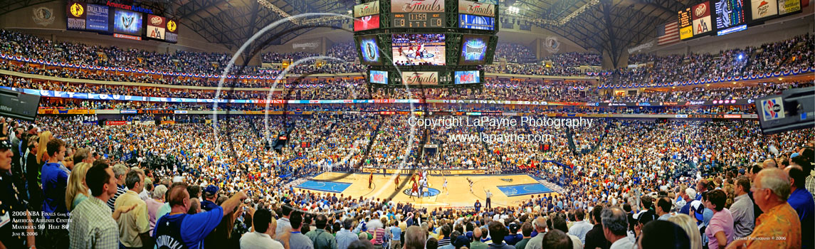 NBA Finals 2006 Panorama