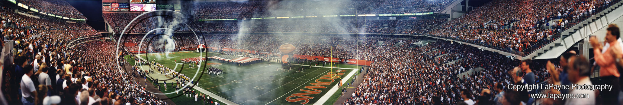 Cleveland Browns Stadium 1999  Panorama