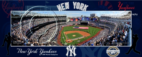 New New Yankee Stadium, Inaugural Opening Day Panorama